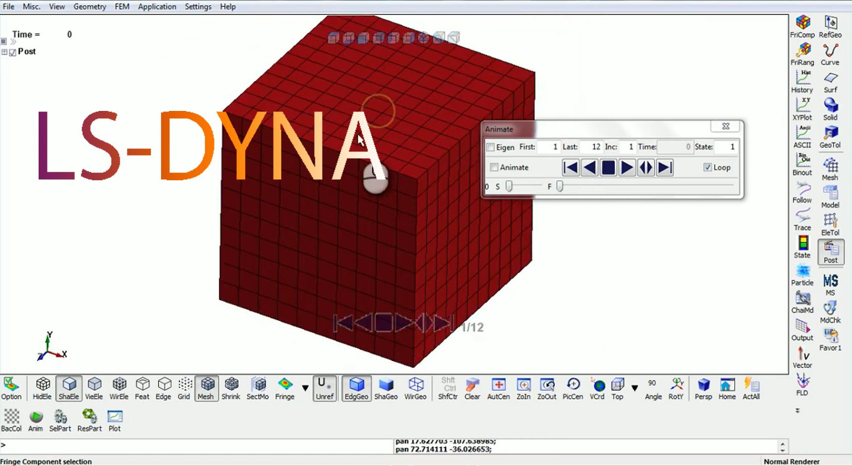 LS-DYNA licencia de 2,000 elementos